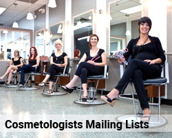 Cosmetologists Mailing Lists